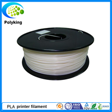 High Quality 3D Printer Filament 1kg/2.2lb 1.75mm PLA Plastic for MakerBot RepRap Mendel White