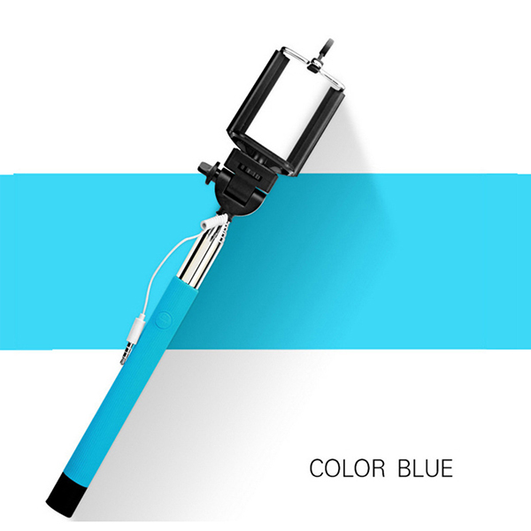 hot 22 100 cm extendable handheld monopod audio cable wired palo self. Black Bedroom Furniture Sets. Home Design Ideas