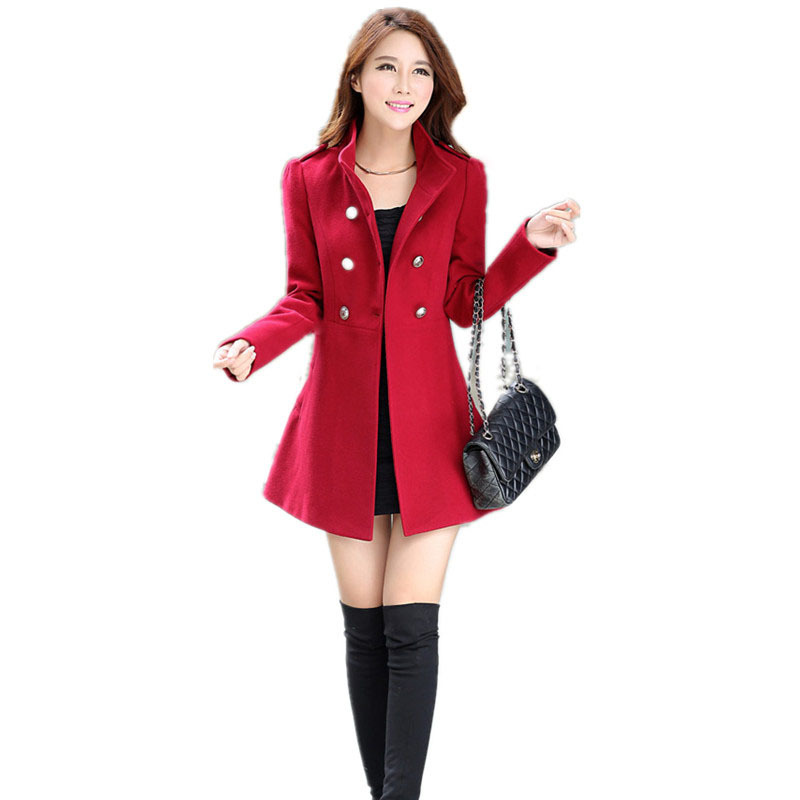 Red Coat Women Photo Album - Reikian