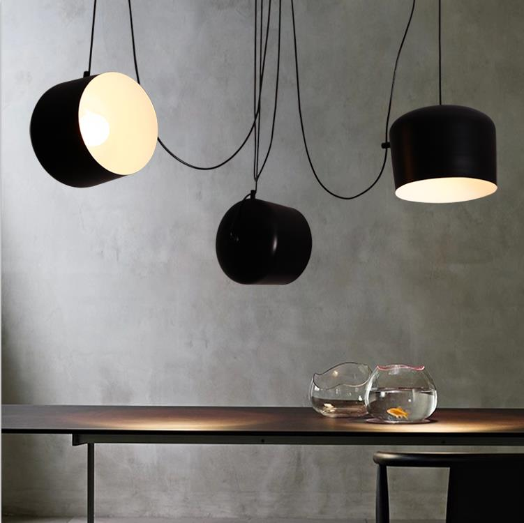 Modern Contemporary  Creative  Mini White Black  Pendant  Lamp Bar Counter Simple  Mini Pendant light<br><br>Aliexpress