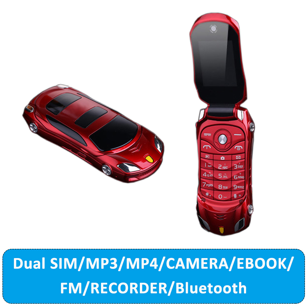 Hot Sale newmind F15 Flip Phone With Camera Dual SIM LED Light 1.8 inch Screen Luxury Car Cell Phone(Can Add Russian keyboard)(China (Mainland))
