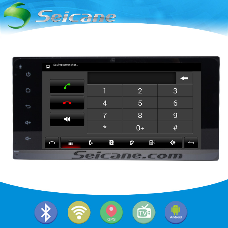 Seicane full touchscreen OEM Android 5.0.1 Radio GPS Navigation system for 2004 2005 2006 Toyota Corolla with Bluetooth(China (Mainland))