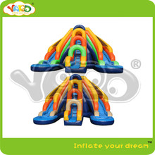 Dual inflatable water park water slide inflatable pool water slide for summer(China (Mainland))
