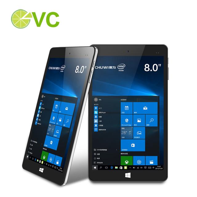 Chuwi Vi8 плюс Intel вишня трейл-камеры X5 Z8300 планшет пк Windows , 10 8 дюймов 1280 x 800 IPS экран 2 ГБ DDR3L 32 ГБ микро-hdmi тип - C