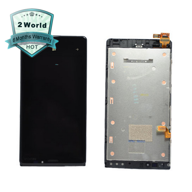 Original Replacement For Nokia Lumia 920 LCD With Touch Screen Digitizer Assembly With Frame