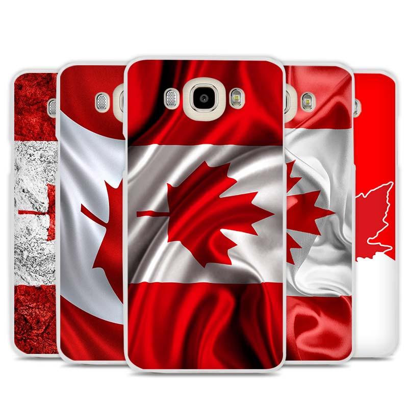 Canada Flag Phone Case Cover for Samsung Galaxy J1 J2 J3 J5 J7 C5 C7 C9 E5 E7 2016 2017(China (Mainland))
