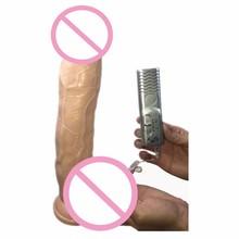 12 дюймов супер большие силиконовые присоске дилдо Реалистичные пенис Вибратор огромный фаллоимитатор для женщин продукты секса для женской мастурбации