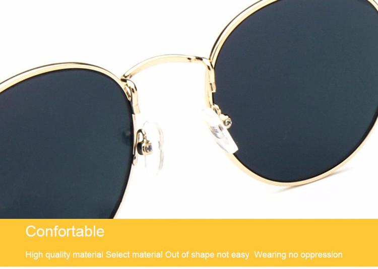 Luxury Vintage Round Sunglasses Women Brand Designer Female Sunglass Points Sun Glasses For Women Lady Sunglass Mirror 2017 Rays (23)