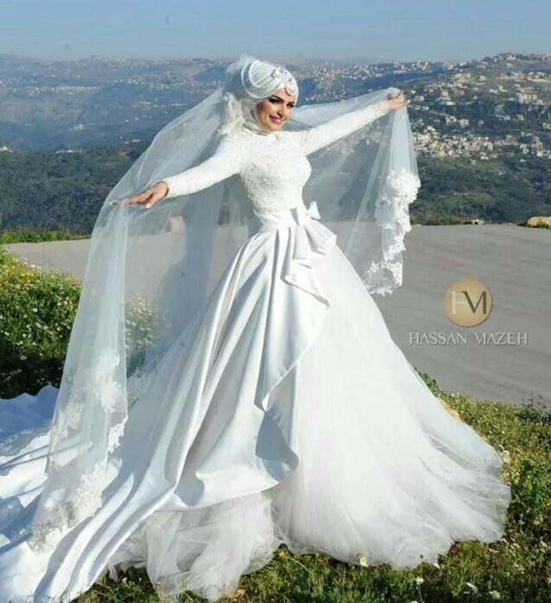 Свадебные платьев мусульманок