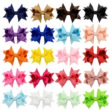 Buy Newest 20pcs/lot Korean 3.3 Inch Grosgrain Ribbon Bows Accessories Clip Boutique Bow Hairpins Hair Ornaments 657 for $6.99 in AliExpress store