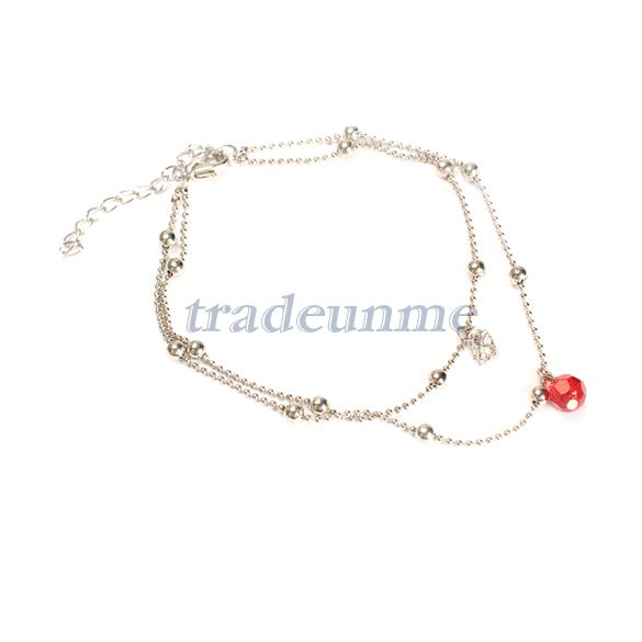 Free shipping Popular Elegant Exquisite Anklets Bracelet Bangle Mini Swan Pendant Fashion(China (Mainland))
