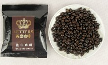 King Letters Blue Mountain Coffee Beans Powder 400g Green Coffee For Slimming 80g 5 bags Edelbrau