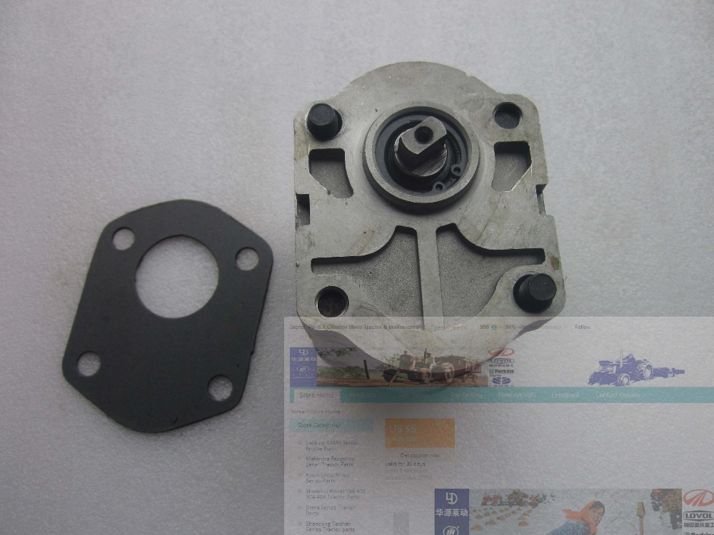 Jinma tractor JM184-JM254, hydraulic pump CBN306L, left rotation, flat connection and end oil outlet(China (Mainland))