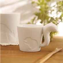 Free Shipping New 2015 Zakka Japanese Style Small Animal Cup Candle Holder Ceramic Candle Holder(China (Mainland))
