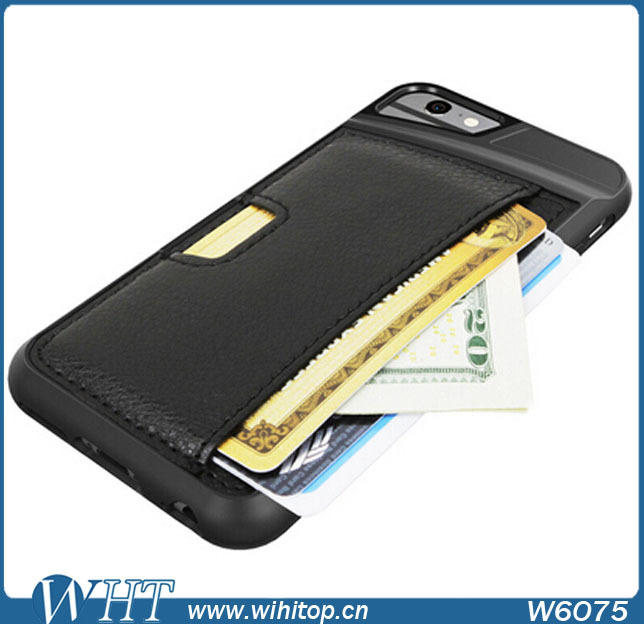 Promotion! Wallet Card Case For iPhone 6, Business Leather Phone Case ...