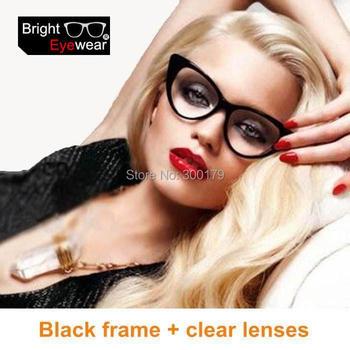 Free Shipping Fashion Beyonce Giselle Cat Eye style women shade eyeglasses eyewear glasses Rx-able spectacle frame sunglasses