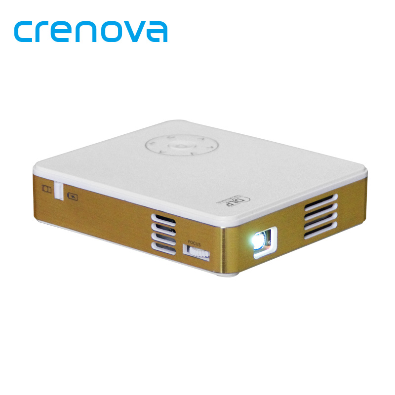 Crenova m9 dlp led portable projector 1080p support home for Beamer portable
