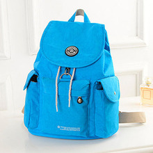 Luggage&bags Women Backpack Waterproof Nylon 16 Colors Lady Women's Backpacks Female Casual Sport Travel Bags mochila feminina(China (Mainland))
