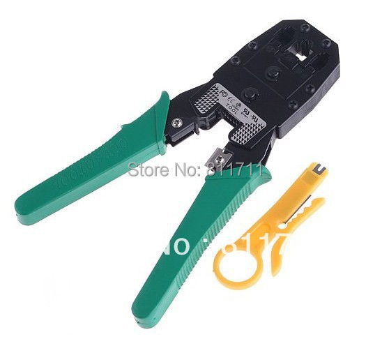 Top Quality RJ45 RJ11 RJ12 Wire Cable Crimper Crimp PC Network Tool(China (Mainland))