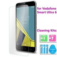Закаленное стекло для Vodafone смарт премьер 6 ультра 6 скорость 6 первые 6 протектор защитная пленка с наборов чистки