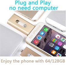 Buy Iphone, Plug Play Lightning OTG USB Flash Drive Memory Card Usb 32GB 64GB 128GB 512GB Stick Flash Disk Key Pendrives for $11.26 in AliExpress store