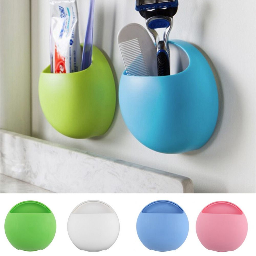 Cute Eggs Design Toothbrush Holder Suction Hooks Cups Organizer Bathroom Accessories Toothbrush Holder Cup Wall Mount Sucker(China (Mainland))