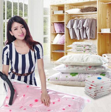 Vacuum receive bag storage bag vacuum compressed space bags with 1 air pump(China (Mainland))