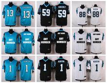 TOP A 100% Stitiched,Carolina Panthers,Cam Newton,Josh Norman,Luke Kuechly,Greg Olsen,Kelvin Benjamin,customizable(China (Mainland))