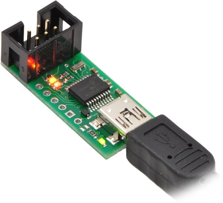 RB-03T037 USB AVR programming unit downloader 3Pi Robot downloader original binding quality goods(China (Mainland))
