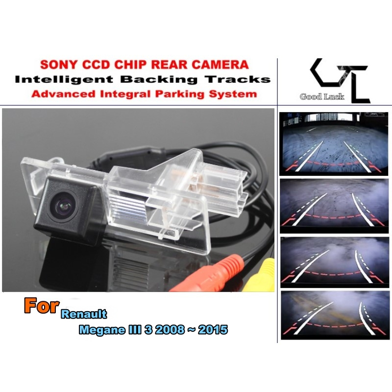For Renault Megane III 3 2008 ~ 2015 Rear View Parking Car Camera Night Vision imports HD CCD Backing Tracks Chip Camera(China (Mainland))