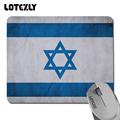 Israel flag wallpaper professional gaming mice pad notebook anti slip durable rubber mousepad