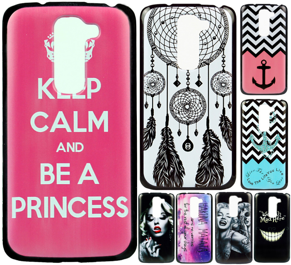 Case Cover LG Optimus G2 D618 D620 Mini Fashion Original Skin Back Design Hard Plastic Mobile Protective Phone - ShoppingCenter store