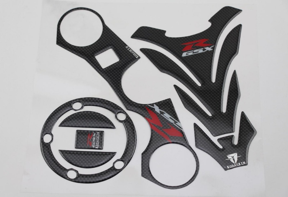 KODASKIN Triple Tree Front End Upper Top Clamp Decal Stickers Tankpad Protector forGSXR600 GSXR750 GSXR1000 K6 K7 K8 K9 L1 06-12<br><br>Aliexpress