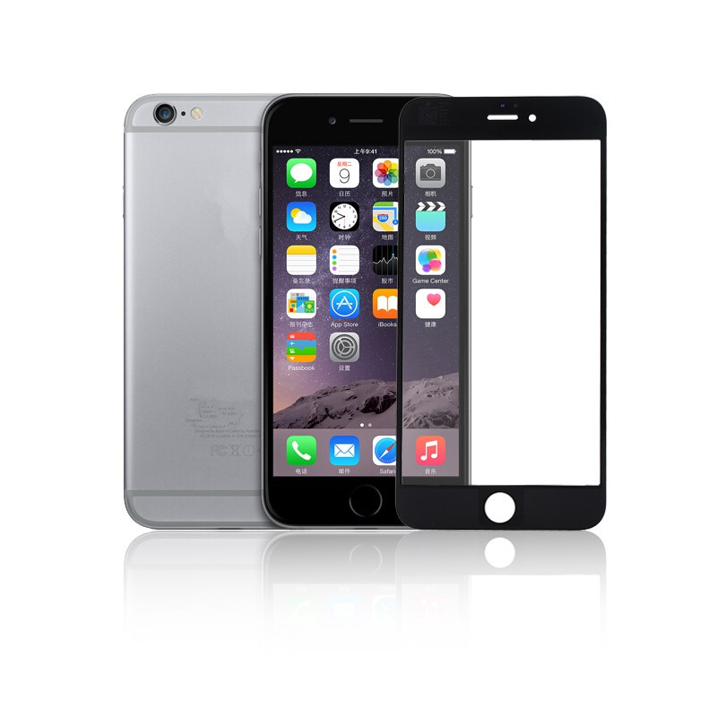 10 Pcs/lot iPhone 6 New Black White Front Replacement Screen Touch Glass Apple 4.7 inch Smartphone - Best Accessory store