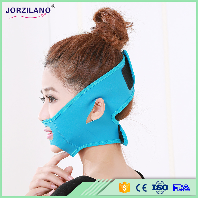 Free Size Health Care Thin Face Mask Slimming Facial Thin Masseter Double Chin Beauty Face Lifting Bandage Belt Anti Crow's Feet(China (Mainland))