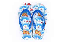 Doraemon blue Flip flops Beach Slippers Lovers style High grade EVA material Soft and comfortableNon slip soles