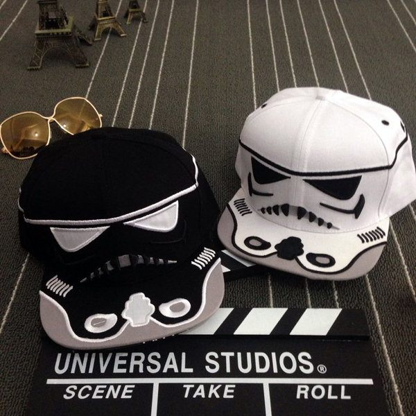 Europe and personalized cartoon cavalry Star Wars baseball cap flat cap hip-hop brand snapback hats for men and women(China (Mainland))