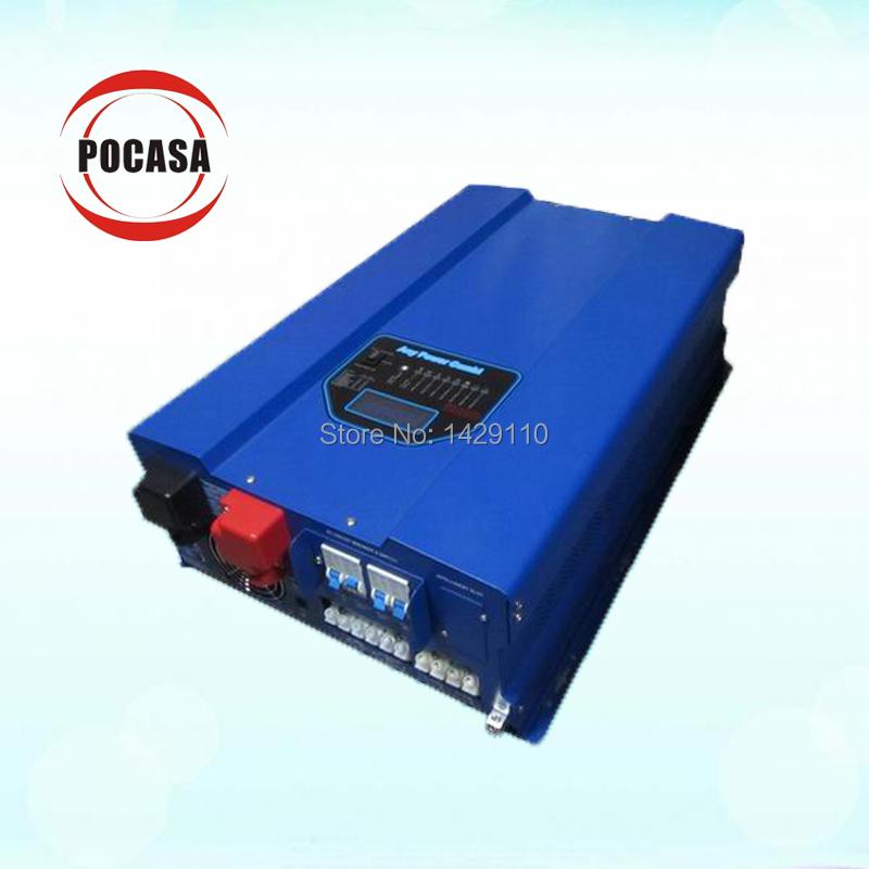2014 Amercia Canada dc/ac inverters 10K watt pure sine wave inverter MPPT solar charge controller off grid solar(China (Mainland))
