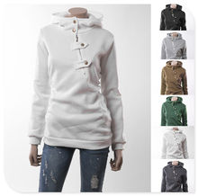 Moleton Feminino nuevo 2015 de calidad superior para mujer de algodón con capucha de manga larga de los Hoodies de gran tamaño S-2xl(China (Mainland))