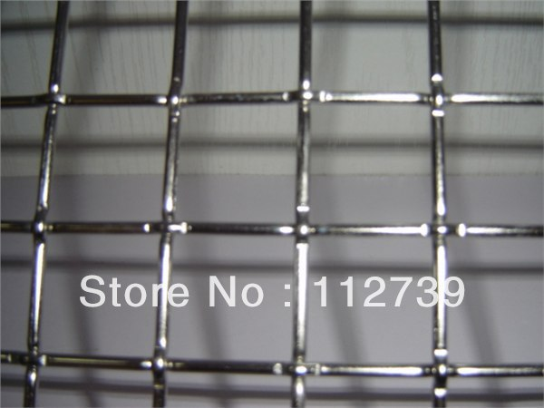 Flat Top Crimped Wire Mesh Hot Sale Stainless Steel Wire