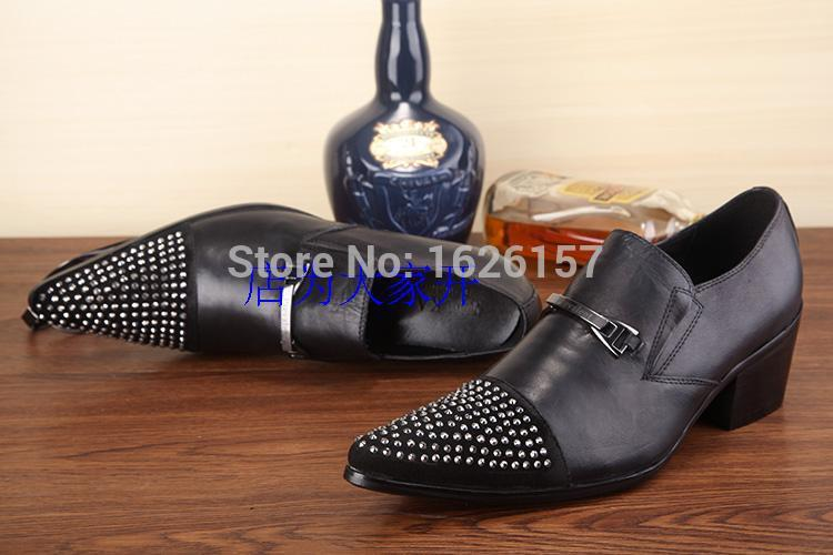 New Arrival 2015 Brand Italian Men Punk Leather Shoes Fashion Man Shoes Leather Shoes Sapato Masculino Oxford Free Shipping 46<br><br>Aliexpress