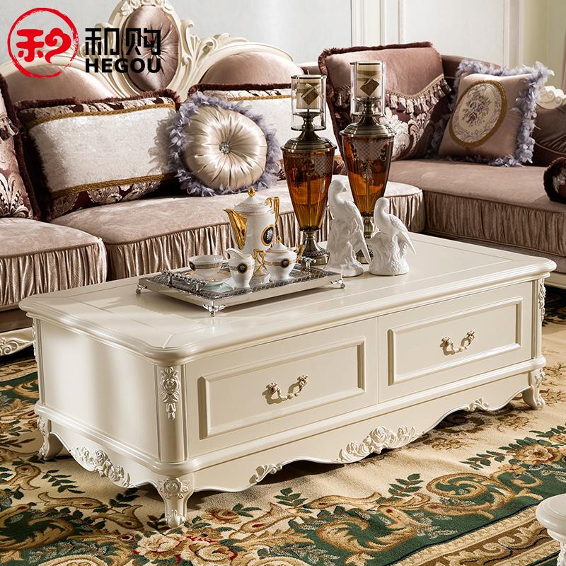 Living room furniture wood coffee table European-style round minimalist style 839 record teasideend(China (Mainland))