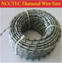 Diamond wire saw for stone marble granite concrete quarrying FREE shipping | install in quarry wire saw machines(China (Mainland))