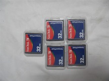 5pcs 32MB SD Card Original CF Compact Flash Card for CNC Industrial Machine new(China (Mainland))