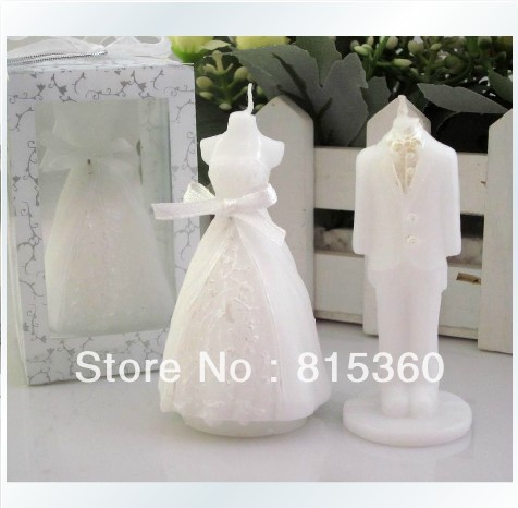 ... Clour The Bride And Groom Wedding Reply Candles Favors For Party Gifts