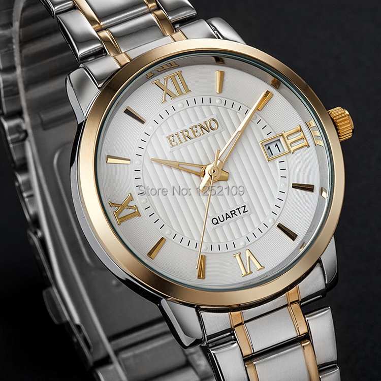 EI Reno luxury brand quartz watches 50m water proof men fashion casual watch full steel male dress business wristwatches 3009<br><br>Aliexpress