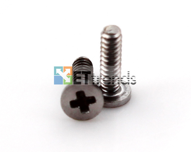 Wholesale 600pcs/lot Bottom Charging Port Screw for iPhone 4 4G 4S High Quality Replacement Repair Parts Free DHL Shipping