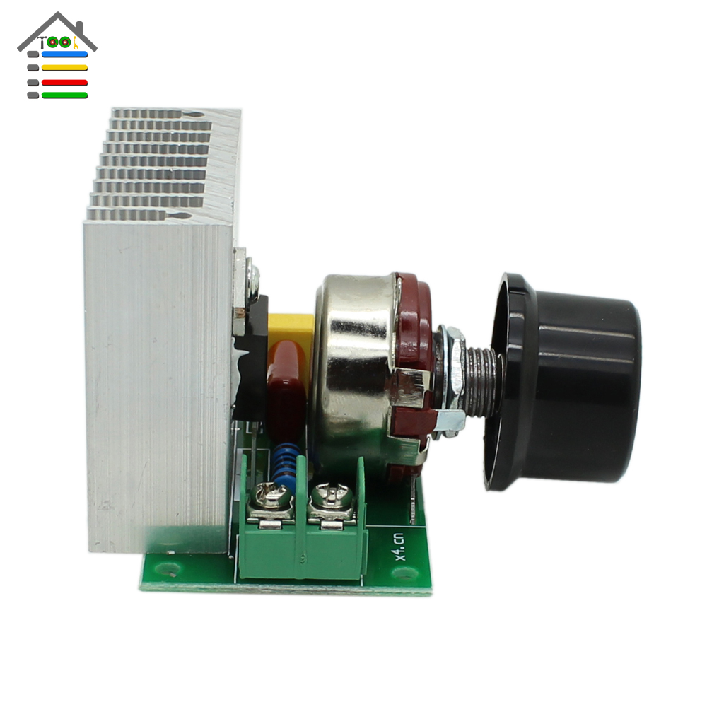 Ac 220v 3800w Scr Voltage Regulator Dimming Dimmers Motor