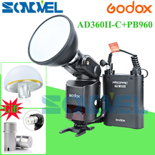 Buy Godox AD360II-C TTL On/Off-Camera Flash Speedlite 2.4G Wireless X System+PB960 Battery Pack Canon EOS 7D 6D 5Ds R 77D 800D for $590.00 in AliExpress store