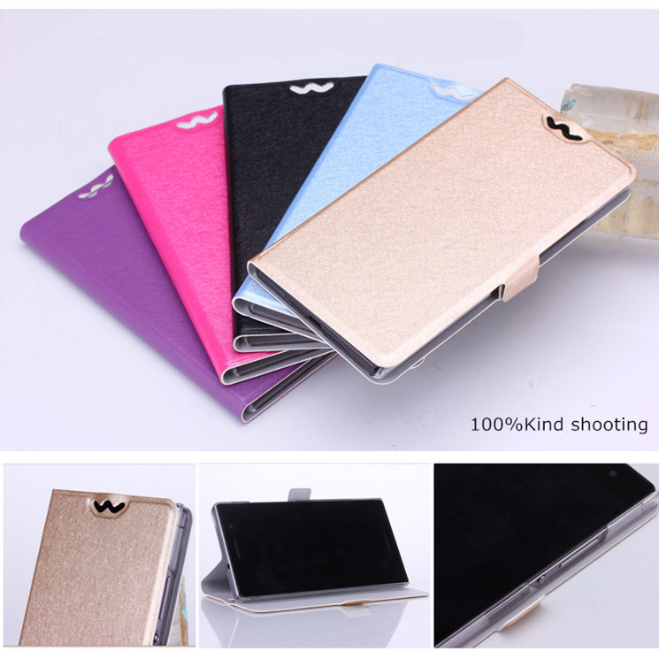 New Original Xiaomi Redmi Note 2 luxury case cover For Xiaomi Red Mi Rice Note 2 phone case leather slim clamshell silk design(China (Mainland))